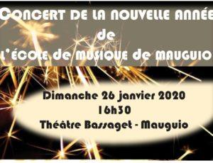 Concert de la Nouvelle Année Dimanche 26 janvier 2020