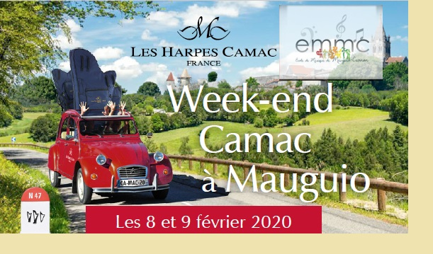 week-end Camac Mauguio